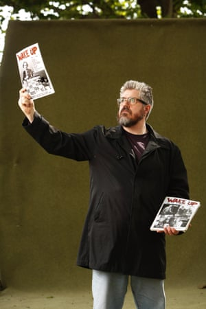 Phill Jupitus at Protest! The Rhetoric of Resistance.
