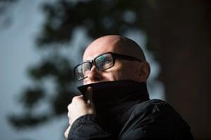 Writer David Peace
