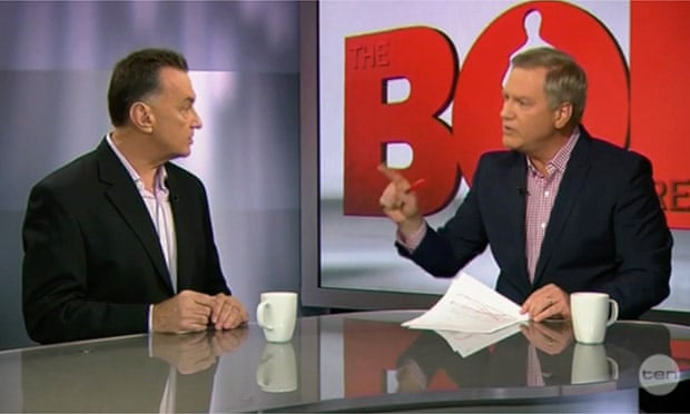 Andrew Bolt and Craig Emerson