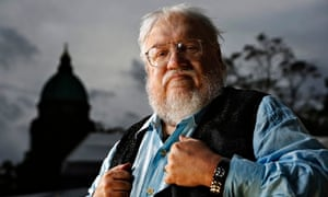 George RR Martin, author of The Game of Thrones, at the Edinburgh International Book Festival