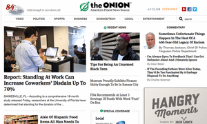 The Onion: no laughing matters for some Facebook users