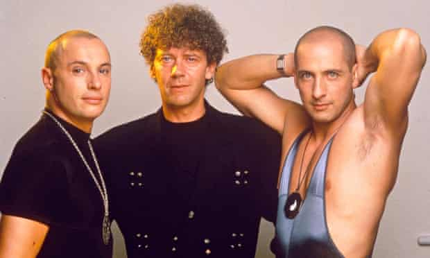 Right Said Fred - Fred Fairbrass, Rob Manzoli and Richard Fairbrass, photo shoot 1991