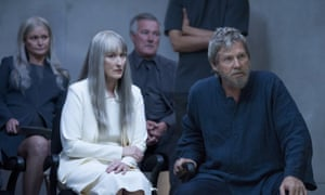 Meryl Streep, left, and Jeff Bridges in The Giver