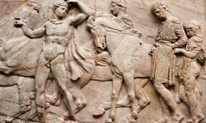 north frieze of Parthenon sculpture