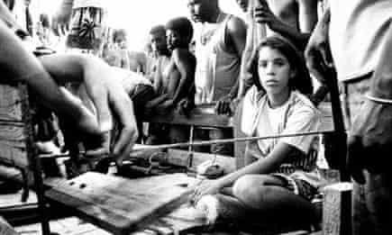 Castellanos girl cuba raft