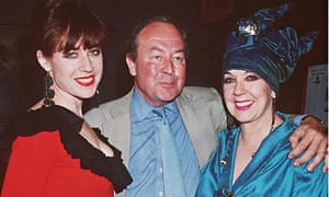 Michael Parkin with his former wife, Molly, and his daugher, Sophie, in 1993.