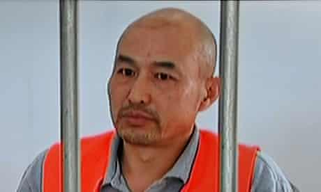 Zhang Lidong, accused of killing a woman at McDonald's