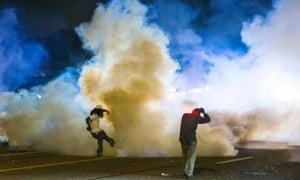 Ferguson teargas