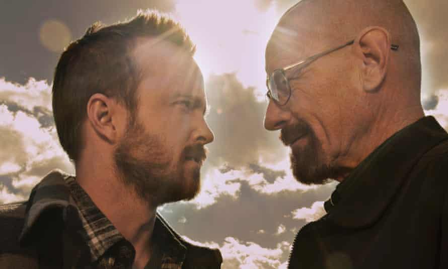 Aaron Paul (left) and Bryan Cranston in Breaking Bad