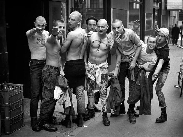 Skinhead designs crucified tattoo 3 Crosses