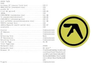 Aphex Twin SYRO announcement