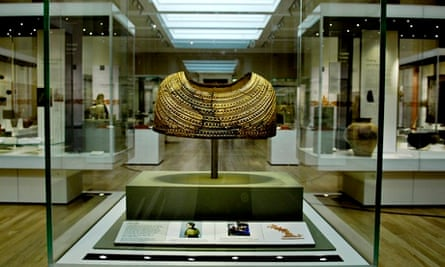 The bronze age exhibition at the British Museum.