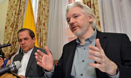 Julian Assange to leave Ecuadorian embassy