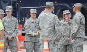 What is the US national guard and when is it called up