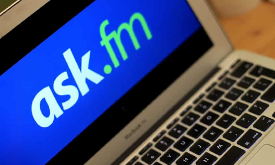 The Ask.FM wedsite has been linked to several bullying cases where the young person has taken their own life.