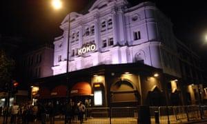 An enigma … Koko in Camden, London.