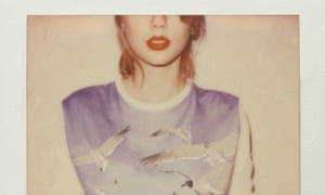The sleeve for Taylor Swift's 1989