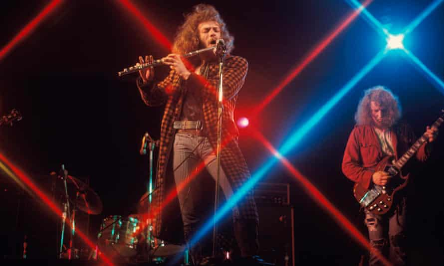 Photo of Martin BARRE and Ian ANDERSON and JETHRO TULL