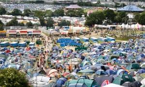Festival camping