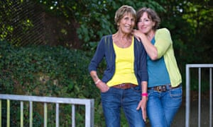 Nina Stibbe with her mother