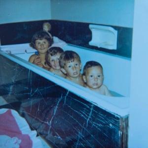 Nina Stibbe and siblings