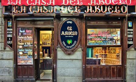 La Casa del Abuelo, Madrid