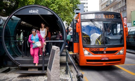 Curitiba buses