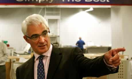 Alistair Darling, leader of the pro-union Better Together campaign