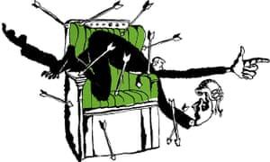 Belle Mellor illustration for Speaker of the House of Commons piece