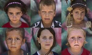20 photos: Syrian refugee children