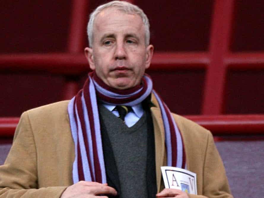 Aston Villa owner Randy Lerner.