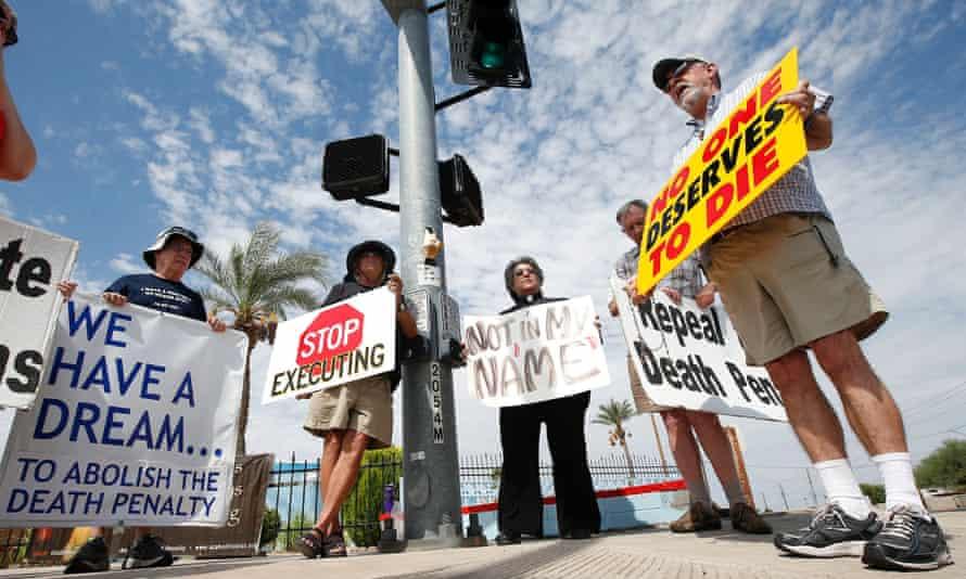 death penalty protest arizona
