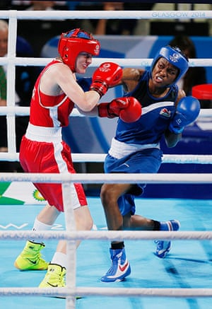 Tom Jenkins day 10: Nicola Adams lands a right