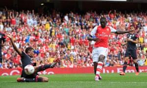 Emirates Cup 2014 Arsenal v Benfica Emirates Stadium, Arsenal, London, United Kingdom - 2 Aug 2014