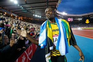 Usain Bolt by Tom Jenkins: Commonwealth Games day ten