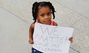 little girl we matter