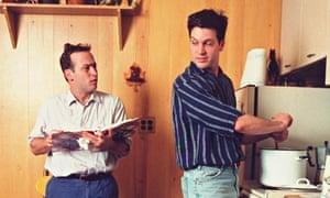 David Sedaris and Hugh Hamrick