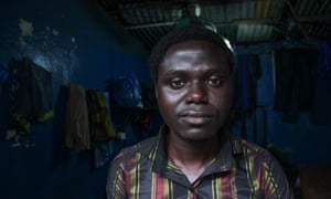 'Her eyes started turning red and  her face changed': Stephen Kpoto, Liberia