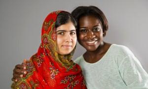 Malala Yousafzai and Inez Sarkodee-Adoo