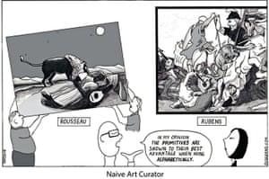 Peter Duggan Artoon: Naive art curator