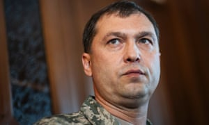 Valeriy Bolotov, then self-proclaimed people s governor of Luhansk, in May 2014.
