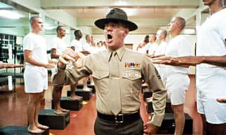 'FULL METAL JACKET', R. Lee Ermey - 1987 VARIOUS VIETNAM WAR FILM STILLS