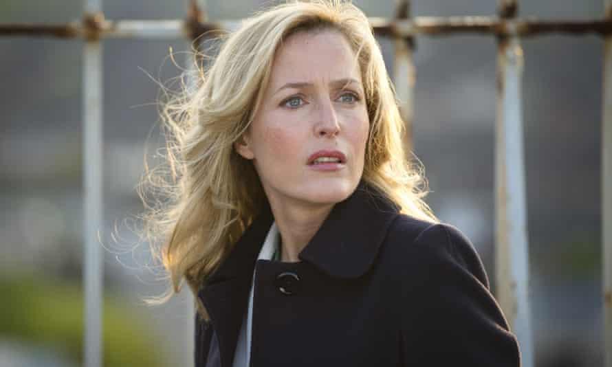 Gillian Anderson in BBC2 crime thriller, The Fall.