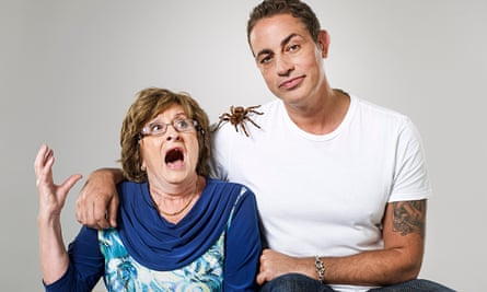 Baz Ashmawy and his mother, Nancy