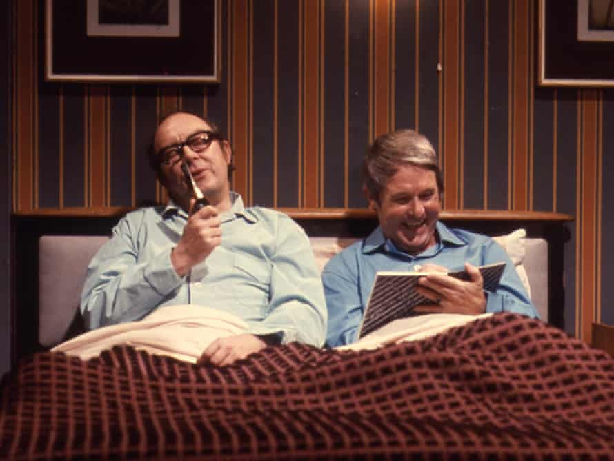 Morecambe and Wise, stars of communal Saturday night viewing.