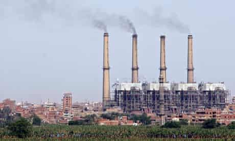 Egypt's Shoubra el-Kheima power station