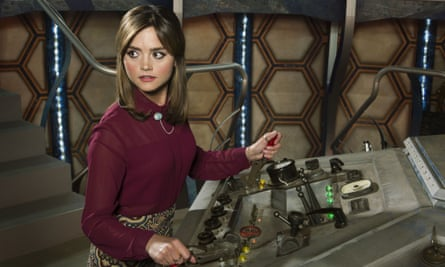 Clara in control (Jenna Coleman)
