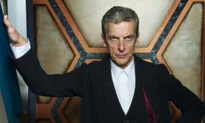 """""""Who frowned me this face?"""" Peter Capaldi as The Doctor"""