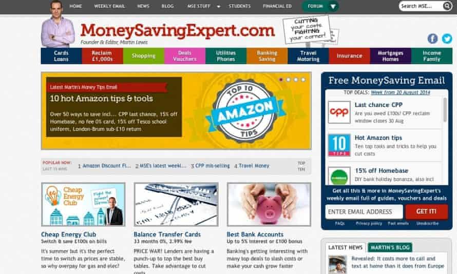 cashback MoneySavingExpert.com