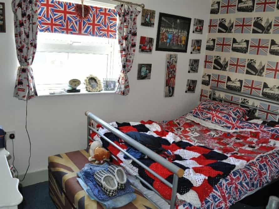 Union jacks bedroom